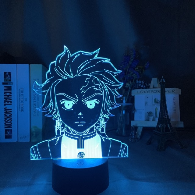lampe 3d manga